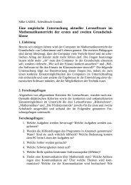 Eine empirische Untersuchung aktueller Lernsoftware im ...