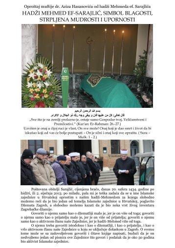 foto reportaža - Islamska zajednica u Hrvatskoj