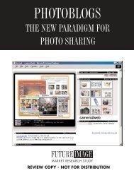 THE NEW PARADIGM FOR PHOTO SHARING - MJK Partners