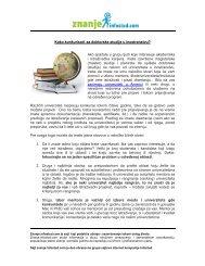 Kako konkurisati za doktorske studije u inostranstvu - Infostud