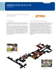 ANDREAS STIHL AG & Co. KG - Aberle Automation