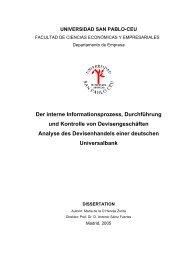 Der interne Informationsprozess, Durchführung und ... - MathFinance