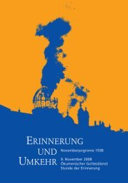Erinnerung und Umkehr - Evangelische Landeskirche in Baden
