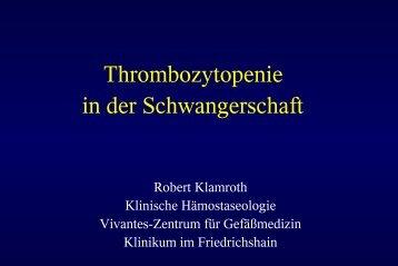 Thrombozytopenie in der Schwangerschaft