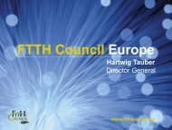 FTTH - Access and Home Networks