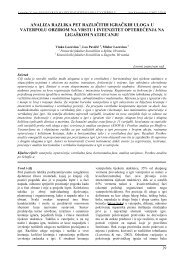 analiza razlika pet različitih igračkih uloga u vaterpolu - Acta ...