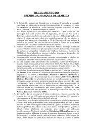Prémio Dr. Marques Almeida - APMVEAC