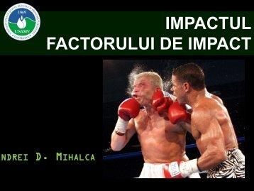 Prezentare Andrei Mihalca - USAMV Cluj-Napoca
