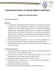 Formato de Tesis de Posgrado ( PDF )