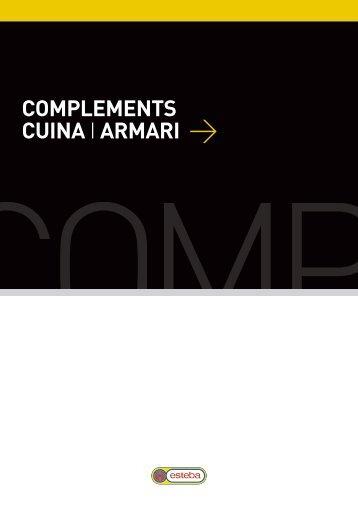 COMPLEMENTS CUINA I ARMARI > - fustes esteba