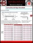 Cartuchos de Baja Densidad - Backer & Alpe - Page 3