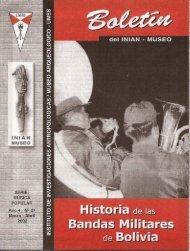 Historia de las Bandas Militares de Bolivia - iniam