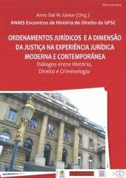 Anais Congresso História do Direito - Novembro de 2010