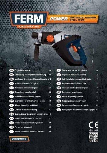 HDM1017 - Firma Servotool GmbH