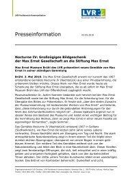 Pressemitteilung Nocturne IV - Max Ernst Museum