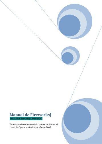 Manual de Fireworks] - Miportal