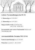 Semesterprogramm SS13 - bei der Sängerschaft Markomannen - Seite 7