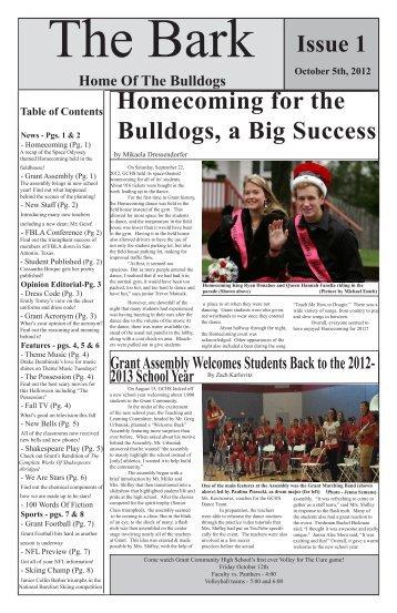 October 5, 2012 - Grant Community High School