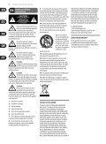 FEEDBACK DESTROYER FBQ1000 Preset chart - Behringer - Page 2