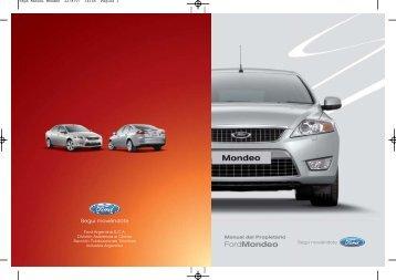 Mondeo Manual del Propietario - Oeste Autos