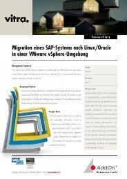 Migration eines SAP-Systems nach Linux/Oracle in einer VMware ...