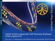 Erfahrungsbericht SAP Business ByDesign am - Ecovis