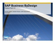SAP Business ByDesign - max it