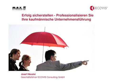 Professionalisieren Sie Ihre kaufmännische ... - max it