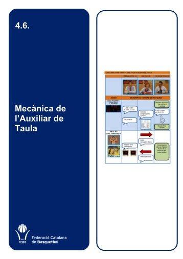 4.6. Mecànica de l'Auxiliar de Taula - Federació Catalana de ...