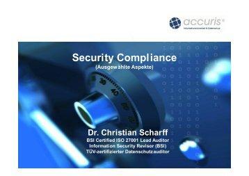 Security Compliance – Geschäftsführer im Haftungsrisiko