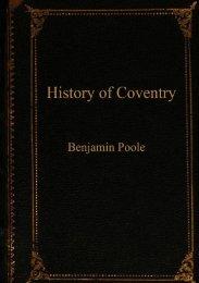 history of Coventry - Keresley Parish Council