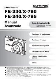 FE-240 - Manual Avanzado - Olympus America