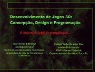 Desenvolvimento de Jogos 3D Concepção, Design e ... - Unisinos