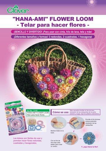Telar para hacer flores - Mercería Lola Botona