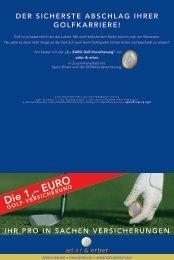 Golf ist ja - adler & erber