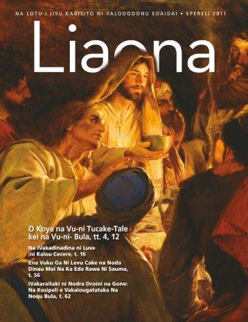 Epereli 2011 Liaona - The Church of Jesus Christ of Latter-day Saints