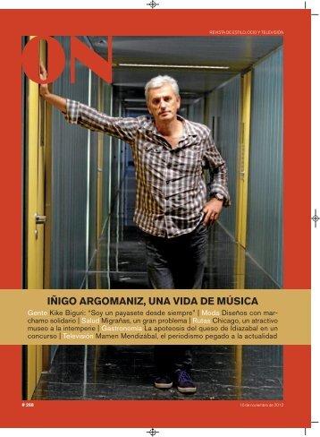IÑIGO ARGOMANIZ, UNA VIDA DE MÚSICA - Deia