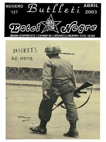 Butlletí 127 - Ateneu Llibertari Estel Negre