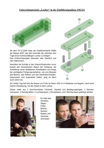 """U-Projekt """"Locher"""" - OSZ Max-Taut-Schule in Berlin"""