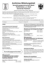 Woche 42/2007 - Markt Pfaffenhofen