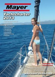 Katalogdownload (2013) - Mayer Yachten
