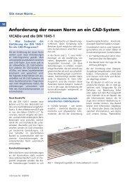 Anforderung der neuen Norm an ein CAD-System - mb AEC ...