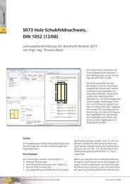 S073 Holz-Schubfeldnachweis, DIN 1052 (12/08) - mb AEC ...