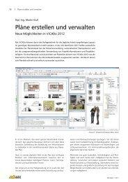 Pläne erstellen und verwalten - mb AEC Software GmbH