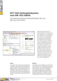 S071 Holz-Gerbergelenksystem nach DIN 1052 (08/04) - mb AEC ...