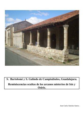 S. Bartolomé y S. Galindo de Campisábalos ... - Soria y Más