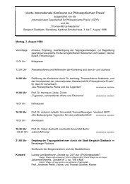 In deutscher Sprache - Philosophische Praxis Gerd B. Achenbach