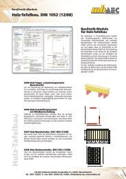 Holz-Tafelbau, DIN 1052 (12/08) - mb AEC Software GmbH