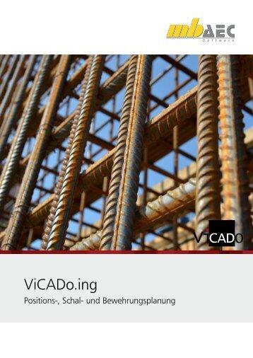 Flyer: ViCADo.ing - mb AEC Software GmbH