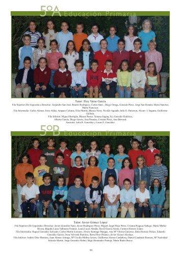5ºB 5ºA - Colegio Lourdes